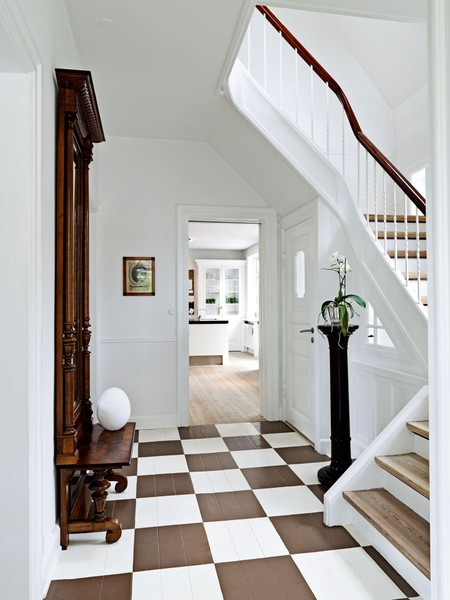 Diy Preppy Painted Floors Dwell With Dignity