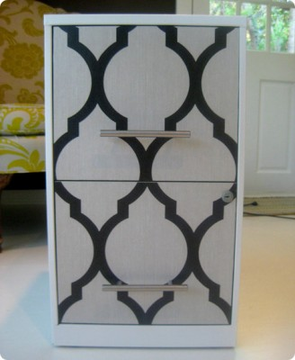 DIY: Chic Filing Cabinet | Dwell with Dignity