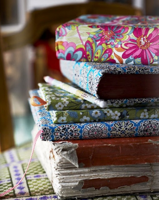 Book Covering Material : Diy back to school book covers dwell with dignity