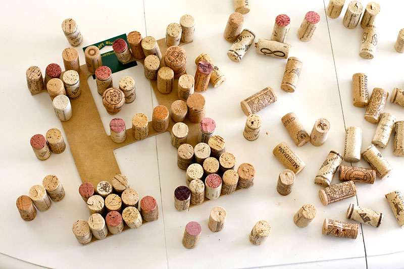 Diy get warm with the wine recycle the cork dwell for How to build a birdhouse out of wine corks