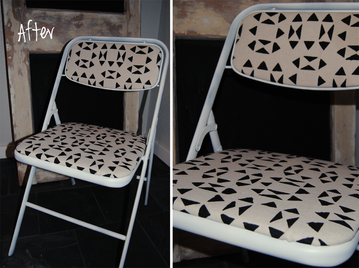 DIY Folding Chair Makeover