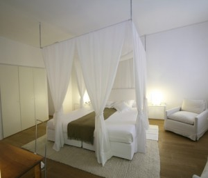 Breezy White Canopy via Remodelista