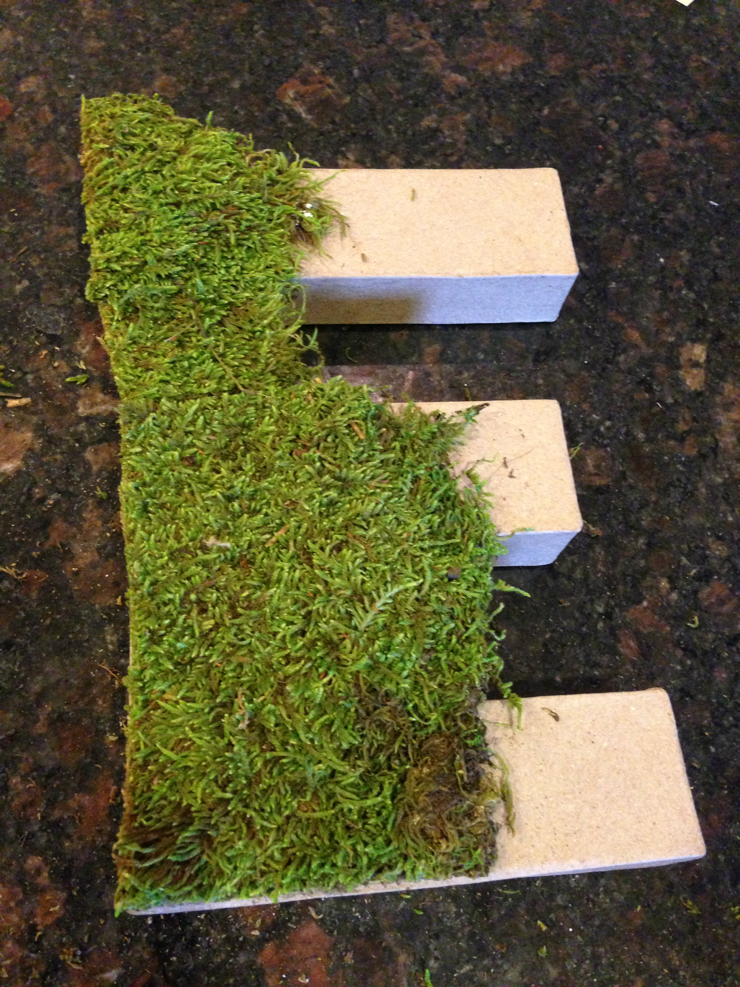 Moss Covered Letters | Diy Moss Covered Letter Dwell With Dignity