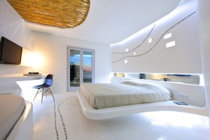 Lovely resort room with Cycladic inspiration