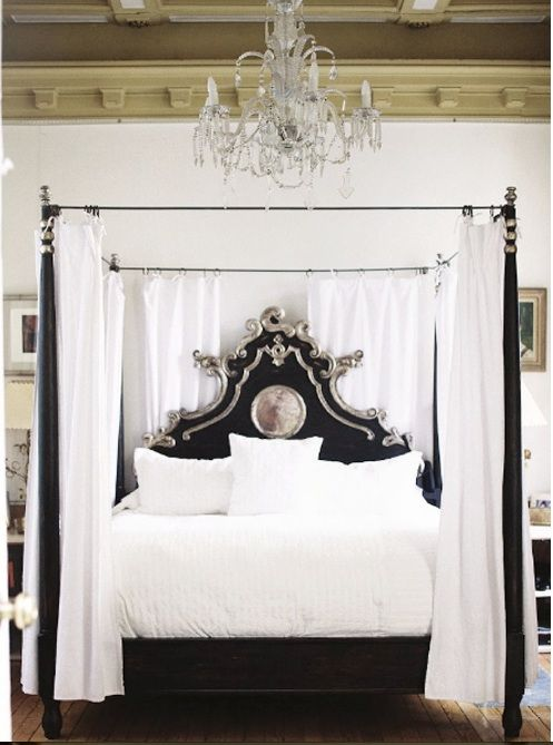 Inspire four poster beds dwell with dignity for Black four poster beds