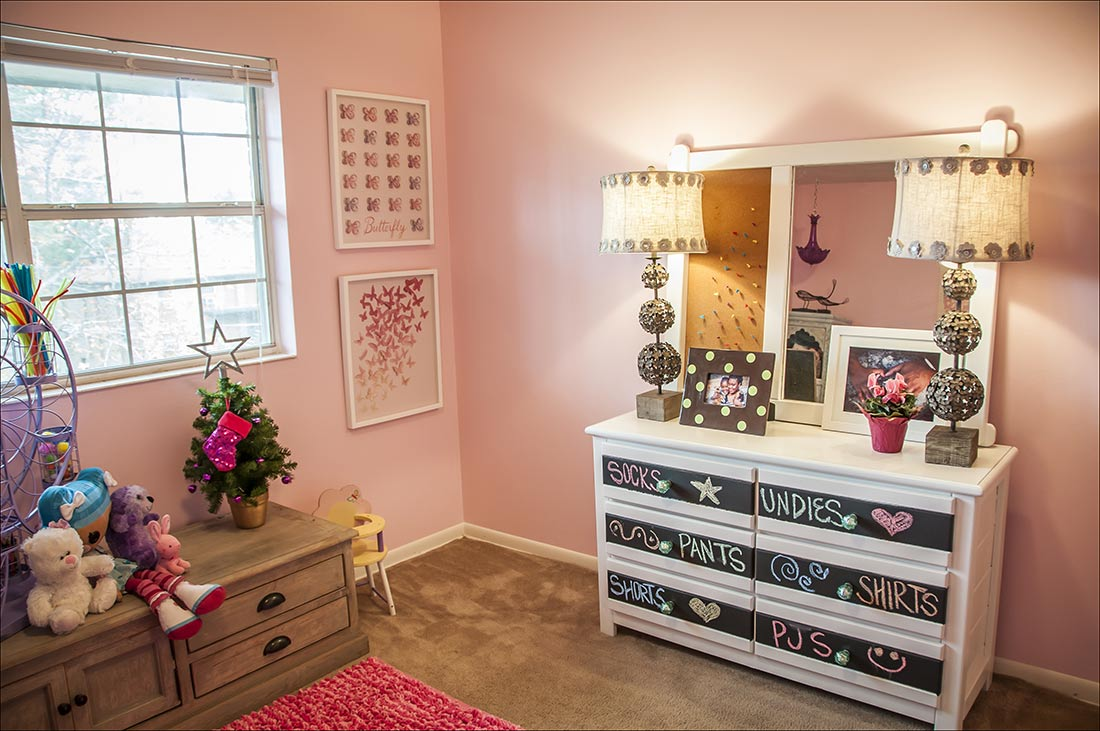 Family Home – December 2015 - Girls Room - Dwell with Dignity