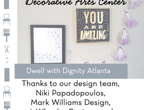 Dwell with Dignity Atlanta Family Reveal!